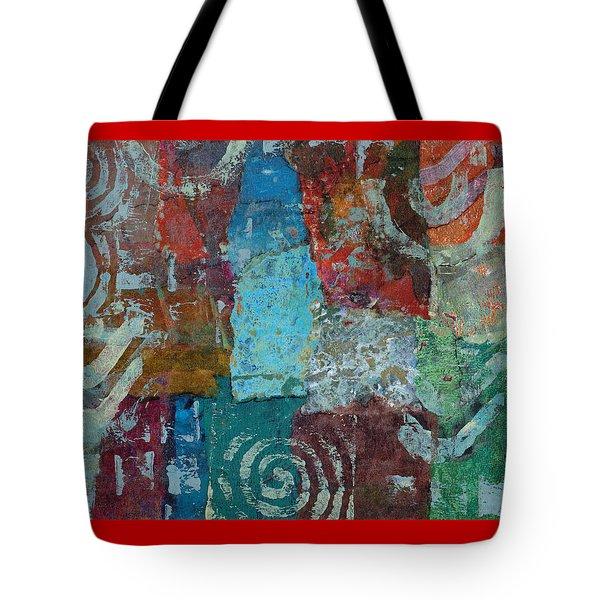 Blue House Tote Bag by Catherine Redmayne