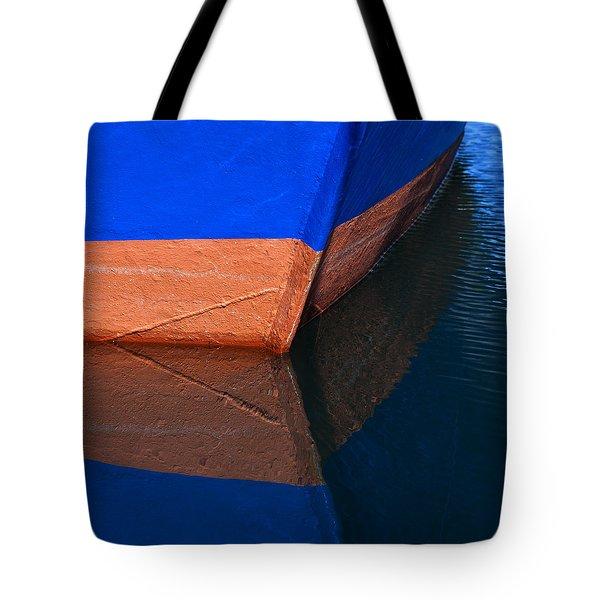 Blue Hull Tote Bag
