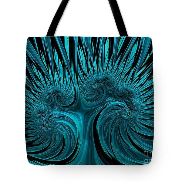 Blue Hydra Tote Bag