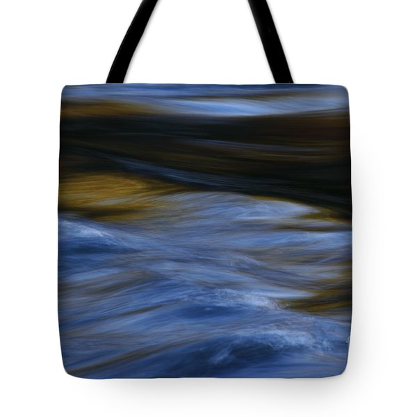 Tote Bag featuring the photograph Blue Georgia Impressions by John F Tsumas