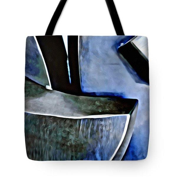 Blue Iron Tote Bag