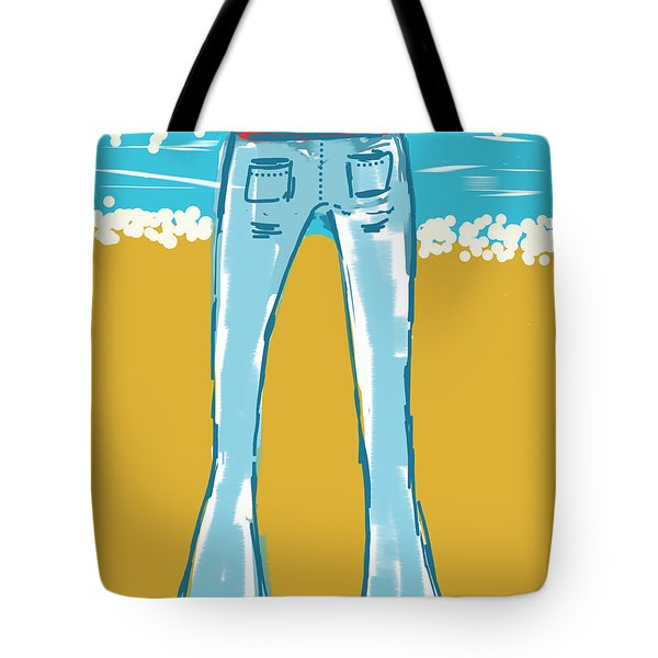 Blue Jean Summer Tote Bag