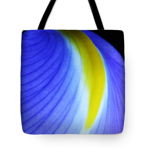 Tote Bag featuring the photograph Blue by Judy Whitton