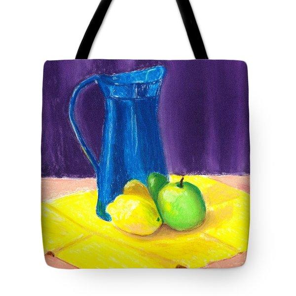 Blue Jug Tote Bag