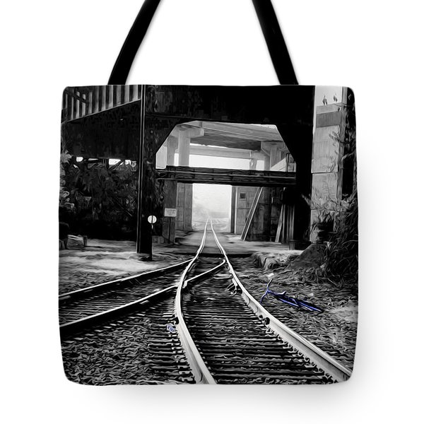 Blue  Tote Bag by Kelvin Booker
