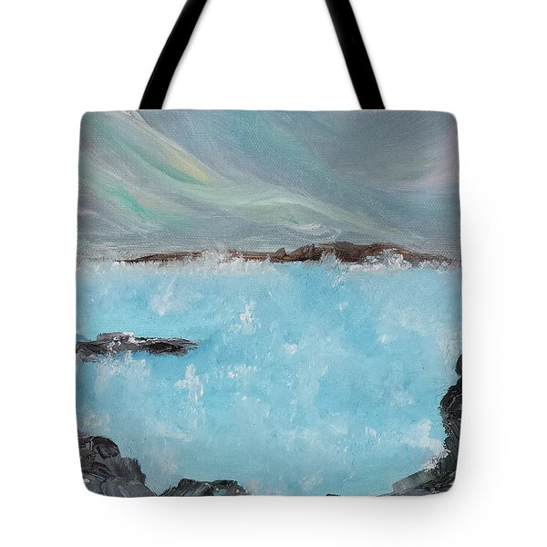Blue Lagoon Iceland Tote Bag