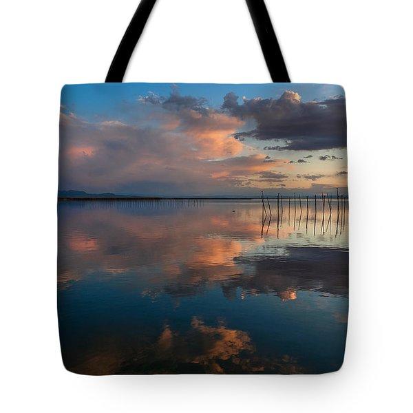 Blue Lagoon. Valencia Tote Bag