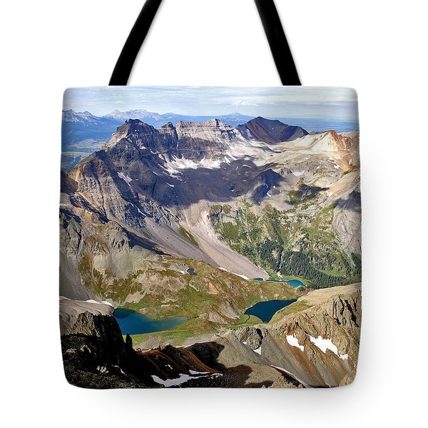 Blue Lakes Beauty Tote Bag