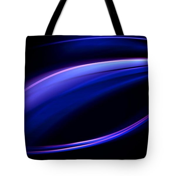 Blue Purple Light Tote Bag