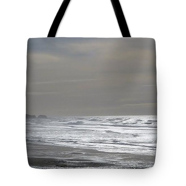 Tote Bag featuring the photograph Blue Lighthouse View by Susan Garren