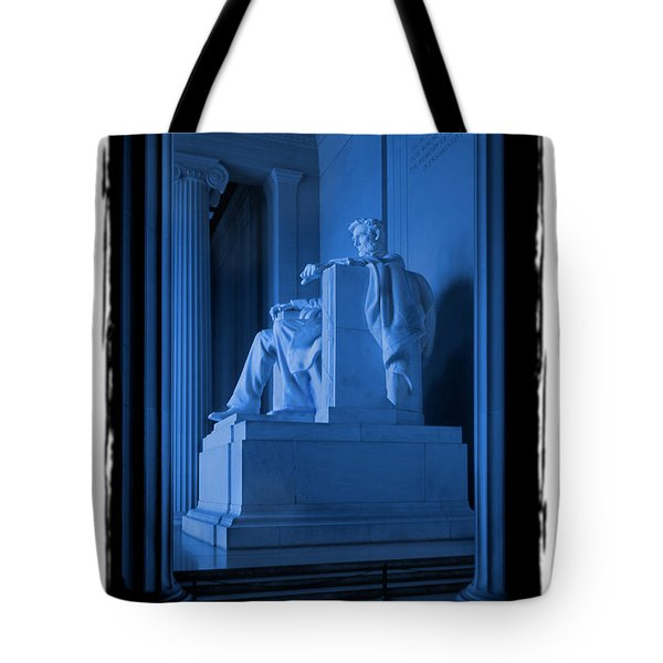 Blue Lincoln Tote Bag by Mike McGlothlen