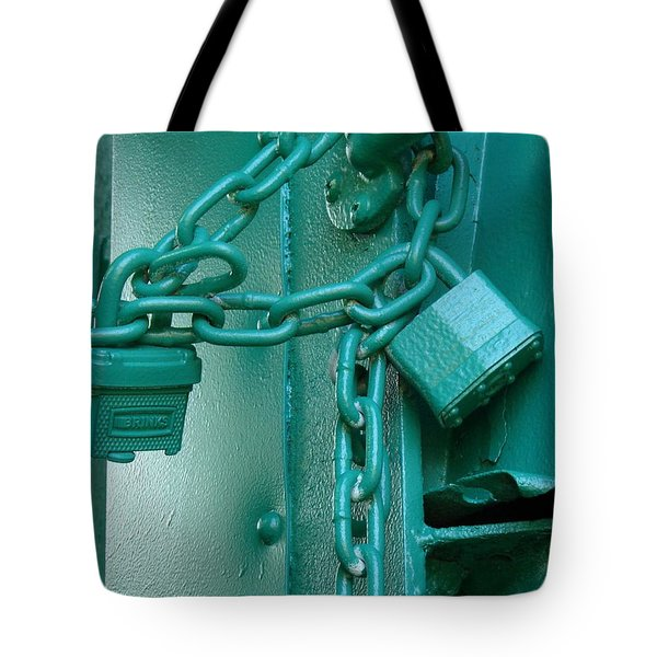 Tote Bag featuring the photograph Blue Locks by Rodney Lee Williams