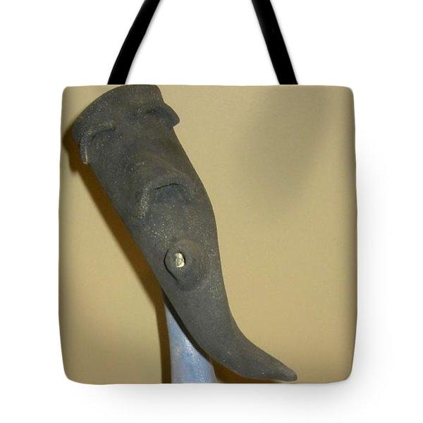 Blue Man - Thinking Tote Bag