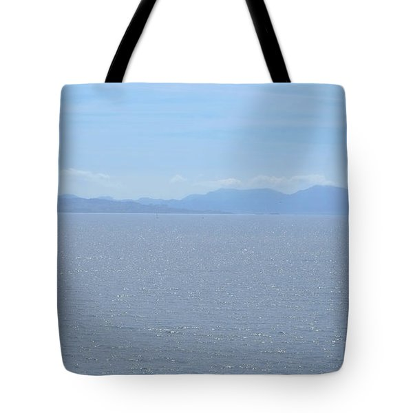 Blue Marseille Tote Bag