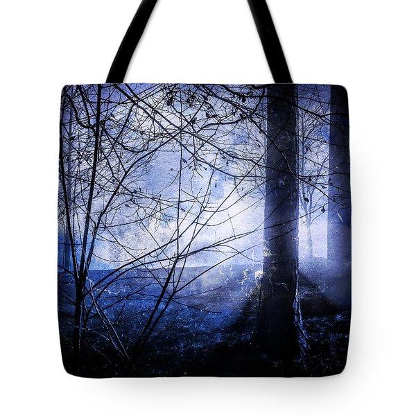 Blue Mist Tote Bag