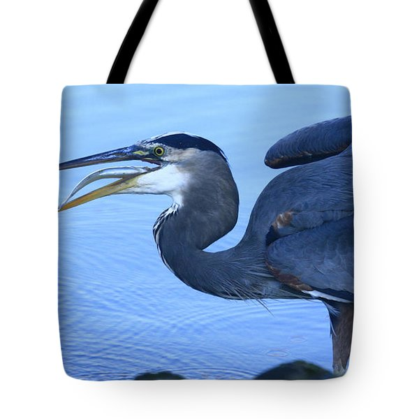 Blue Moment Tote Bag