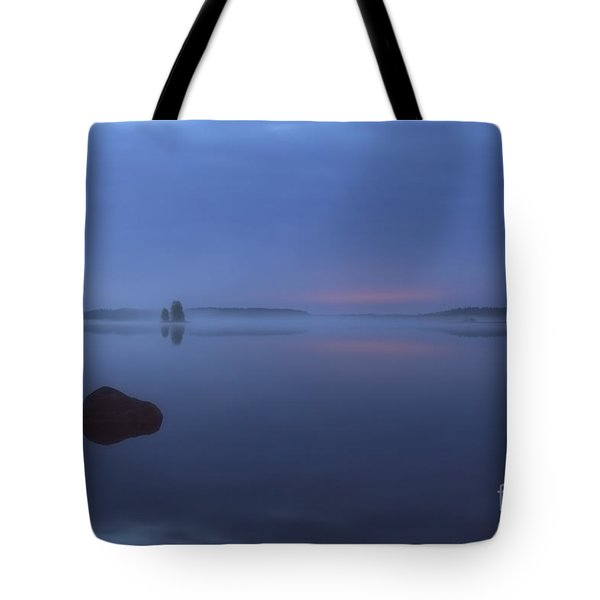 Blue Moment Tote Bag by Veikko Suikkanen