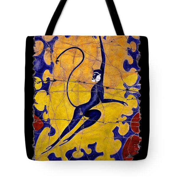 Blue Monkey No. 13 Tote Bag