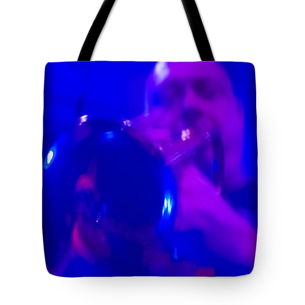 Tote Bag featuring the photograph Blue Mood by Alex Lapidus