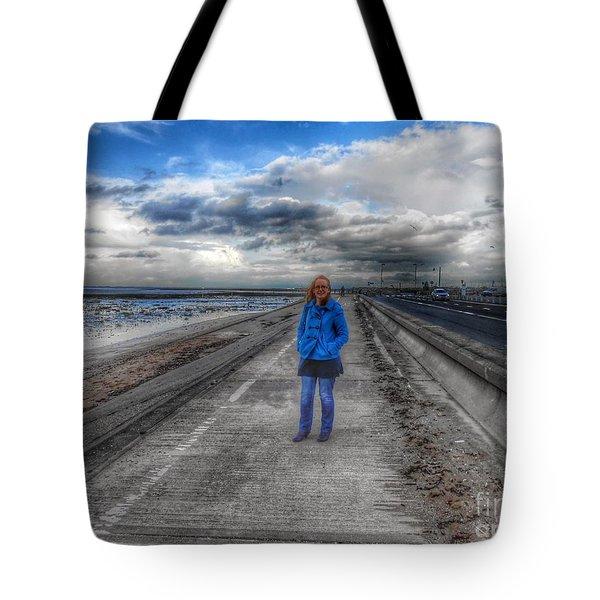 Blue Moods Tote Bag
