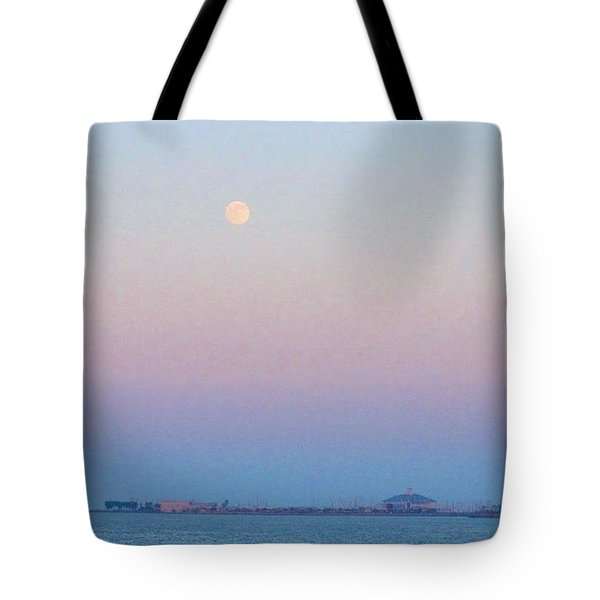 Blue Moon Eve Tote Bag by Deborah Lacoste