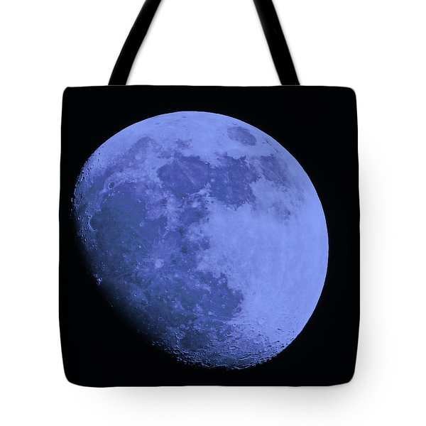Blue Moon Tote Bag by Tom Gari Gallery-Three-Photography