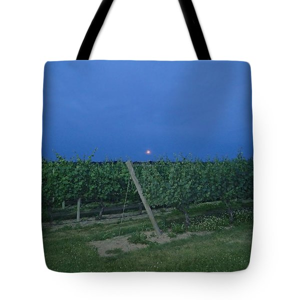 Tote Bag featuring the photograph Blue Moon by Robert Nickologianis
