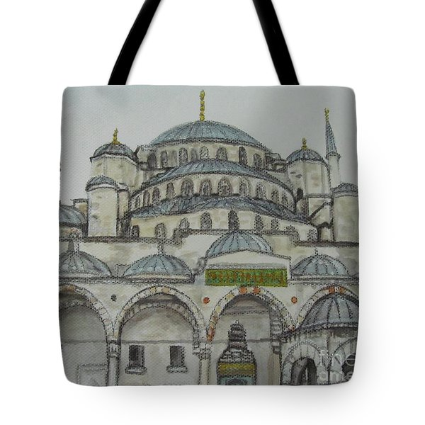 Blue Mosque Istanbul Turkey Tote Bag