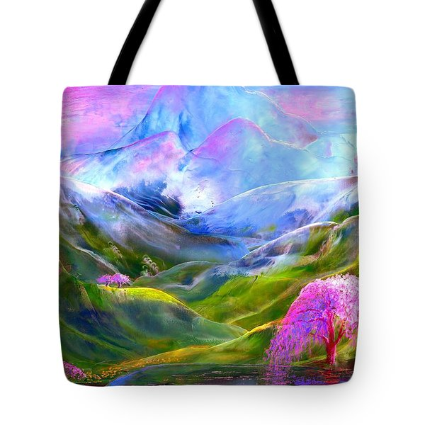 Blue Mountain Pool Tote Bag