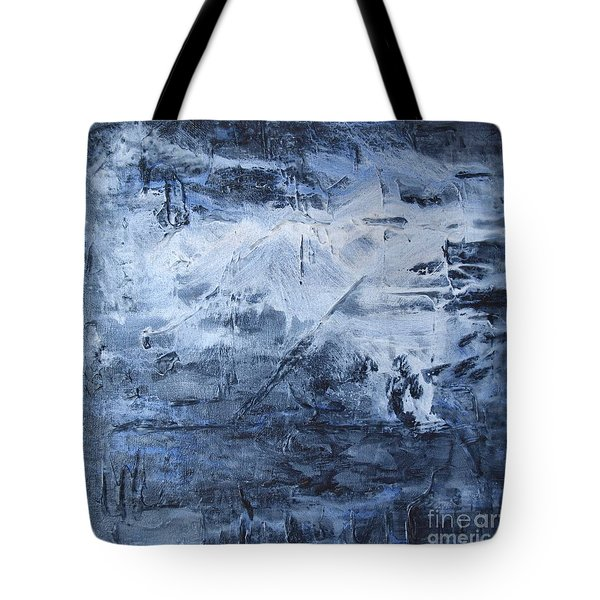 Tote Bag featuring the photograph Blue Mountain by Susan  Dimitrakopoulos