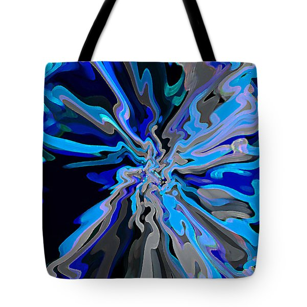 Blue Mystery Tote Bag by RjFxx at beautifullart com
