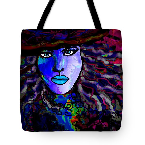 Blue Mystique Tote Bag by Natalie Holland