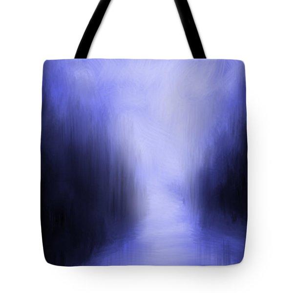 Blue Night Tote Bag by Kume Bryant