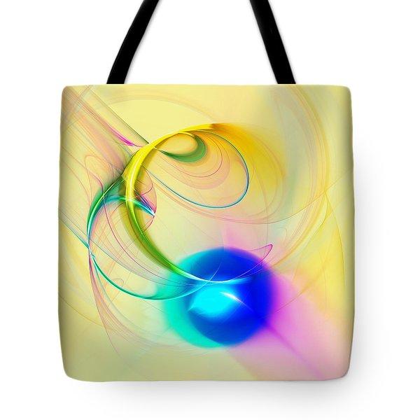 Blue Note Tote Bag by Anastasiya Malakhova