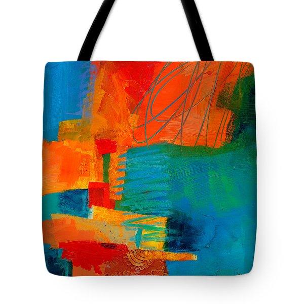 Blue Orange 2 Tote Bag