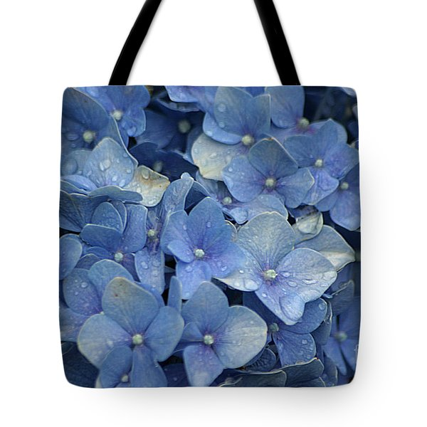 Blue Over You With Tears Tote Bag