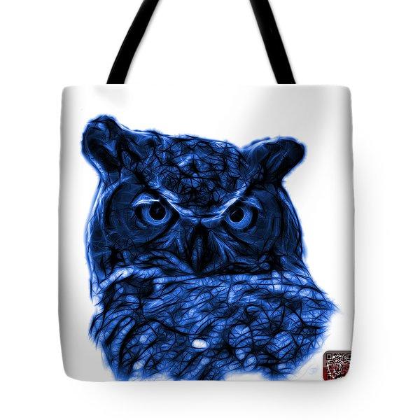 Blue Owl 4436 - F S M Tote Bag by James Ahn