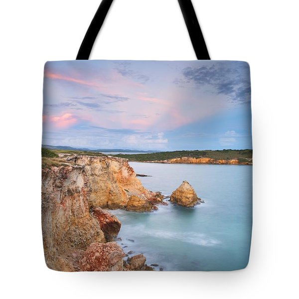 Blue Paradise Tote Bag