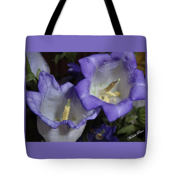 Blue Persuasion Tote Bag