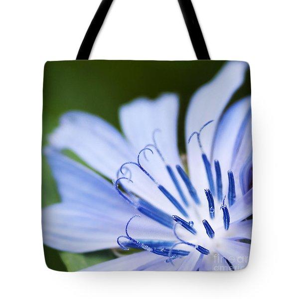 Blue Poetry.. Tote Bag by Nina Stavlund