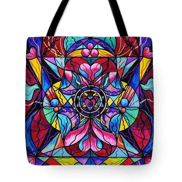 Blue Ray Healing Tote Bag