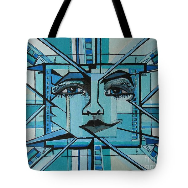 Blue Ray - Sun Tote Bag