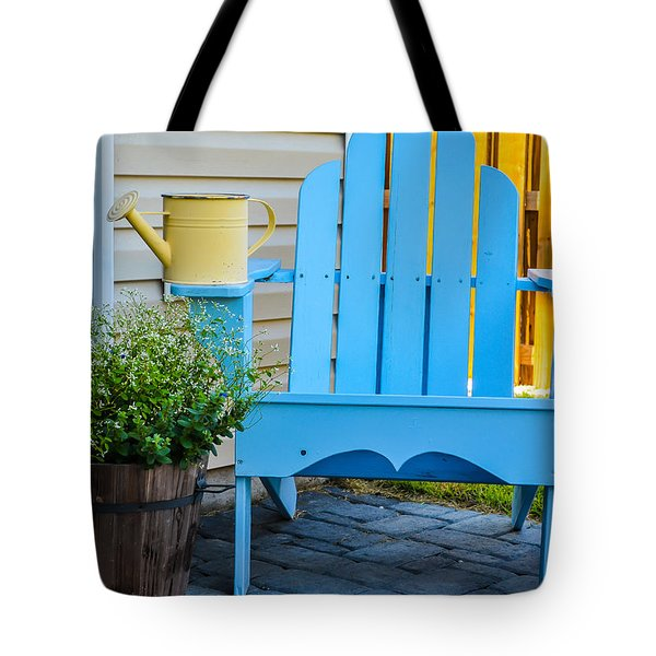 Blue Repose  Tote Bag by Mary Ward