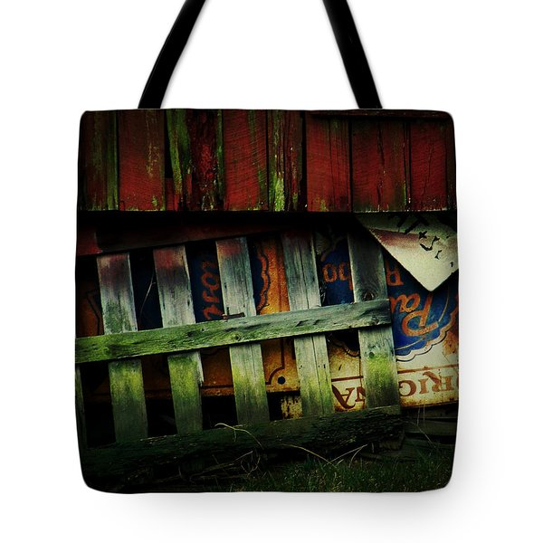 Blue Ribbon Landscape Tote Bag