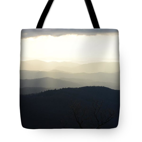 Blue Ridge Mist 2 Tote Bag