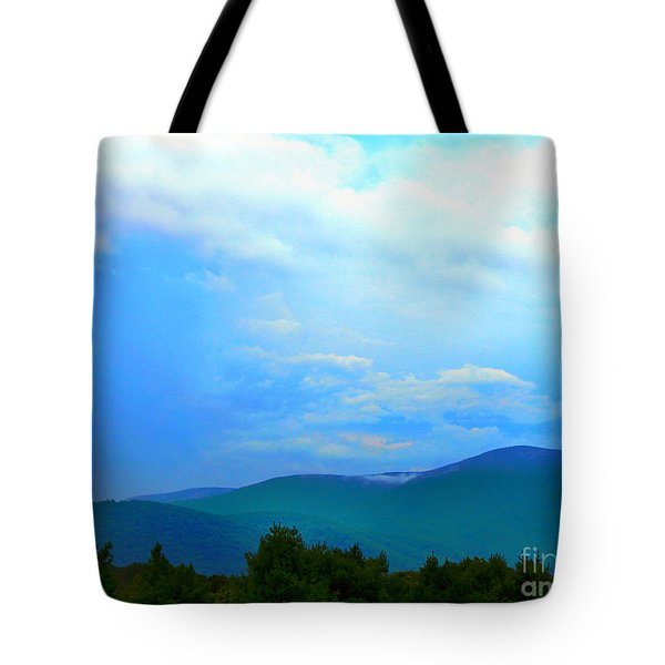 Tote Bag featuring the photograph Blue Ridge Mountains by Judy Palkimas