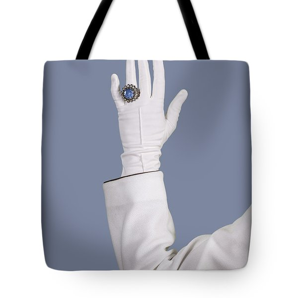 Blue Ring Tote Bag by Joana Kruse
