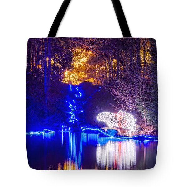 Blue River - Crop Tote Bag