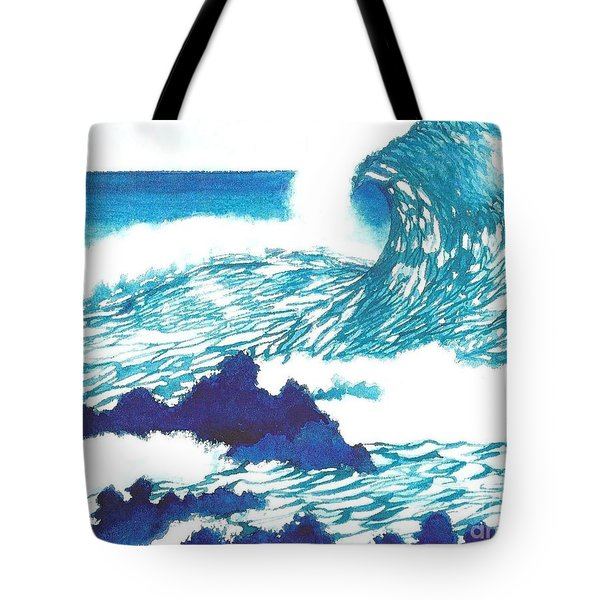 Blue Roar Tote Bag