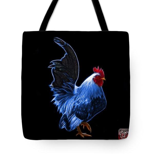 Blue Rooster Pop Art - 4602 - Bb - James Ahn Tote Bag